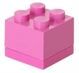 Lego Klods Mini Box Pink