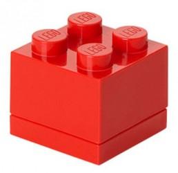Lego Klods Mini Box Rød