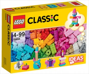 LEGO Kreativt tilbehør lyse farver - 10694 - LEGO Bricks &More