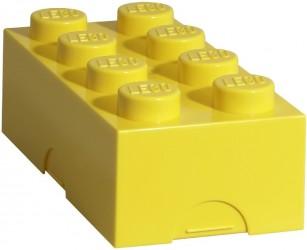 Lego Madkasse Gul