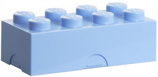 Lego Madkasse Lyseblå