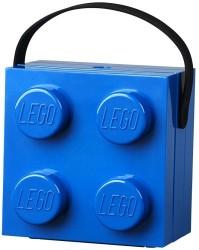 LEGO Madkasse med hank - Blå