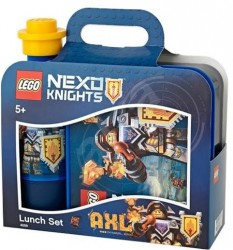 LEGO Nexo Knights Lunch Set 023 - Bright Blue Madkasse
