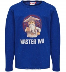 Lego Ninjago Bluse - Blå m. Master Wu