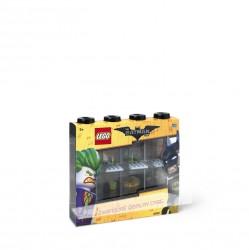 Lego Opbevarings Display 8 Figurer - Batman Sort