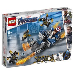 LEGO Super Heroes Captain America: Outrider-angreb