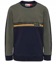 Lego Wear Bluse - Tiger - Navy/Støvet Army