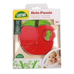 Lena Træ Puslespil Æble