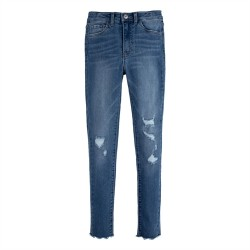 Levi's 720 High Rise Super Skinny Jeans - Hometown Blue