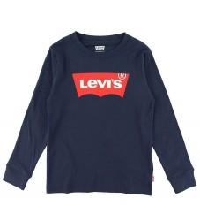 Levis Bluse - Batwing - Dress Blues m. Logo