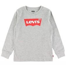 Levis Bluse - Batwing - Grey Heather m. Logo