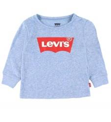 Levis Bluse - Batwing - Regetta Snow Yarn m. Logo