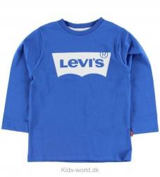 Levis Bluse - Blå m. Logo