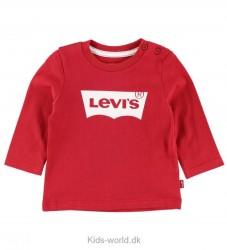 Levis Bluse - Rød m. Logo