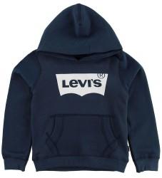 Levis Hættetrøje - Blå m. Logo