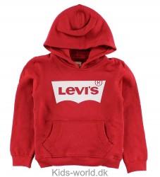 Levis Hættetrøje - Rød m. Logo