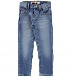 Levis Jeans - 510 Skinny - Lys Blå Denim