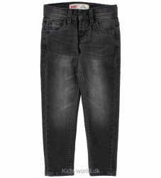 Levis Jeans - 512 Slim Taper - Sort Denim