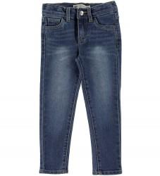 Levis Jeans - 710 Ankle Super Skinny - Blå Denim
