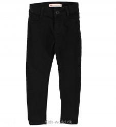 Levis Jeans - 710 Super Skinny - Sort