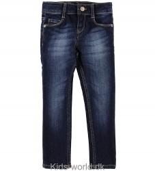 Levis Jeans - 711 Skinny - Mørk Blå Denim