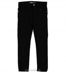 Levis Jeans - 711 - Skinny - Sort