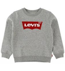 Levis Sweatshirt - Batwing Crew Neck - Gråmeleret