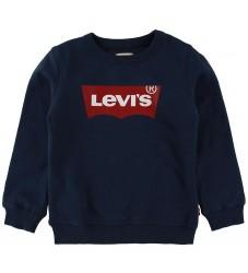 Levis Sweatshirt - Batwing Crew Neck - Navy