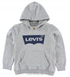 Levis Sweatshirt - Gråmeleret m. Blå Levis