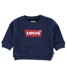 Levis Sweatshirt - Navy m. Logo