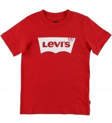 Levis T-shirt - Batwing - Rød