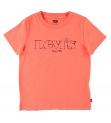 Levis T-shirt - Coral Quartz m. Print
