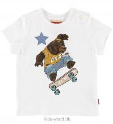 Levis T-shirt - Hvid m. Bjørn