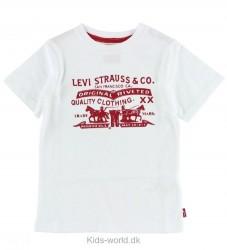 Levis T-shirt - Hvid m. Tekst