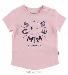 Levis T-shirt - Lyserød m. Sort Print