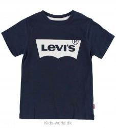 Levis T-shirt - Navy m. Logo