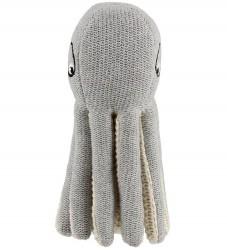 Liewood Rangle - Ole - Octopus - 18 cm - Lysegrå