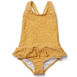 Liewood UV Badedragt Amara - Confetti Yellow Mellow
