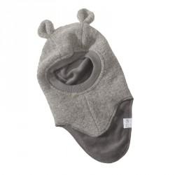 Light grey/wool ear - Elefanthue with ear 30 fra Huttelihut