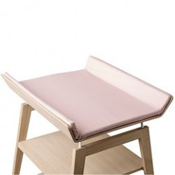 Linea by Leander betræk til puslepude - Soft Pink