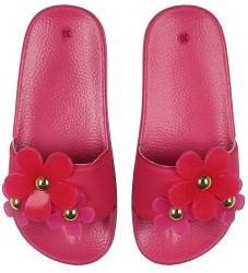 Little Marc Jacobs Badesandaler - Pink m. Blomster