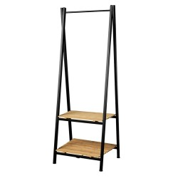 Living&more tøjstativ - Metal/bambus