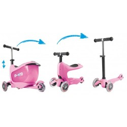 Løbehjul - Micro Mini2go - Rosa