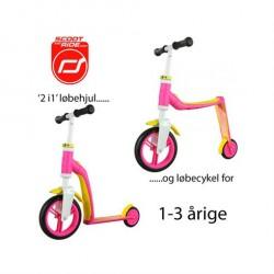 Løbehjul/løbecykel 2 i 1 Highwaybaby Pink