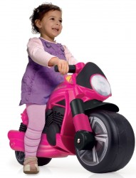 Løbemotorcykel Pink