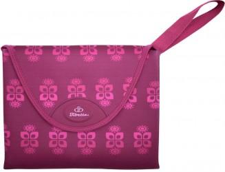 Luxury Star Changing Mat fra Bibetta - Plum Flower