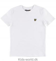 Lyle & Scott Junior T-shirt - Hvid m. Logo
