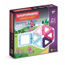 Magformers Inspire 14 dele - Pastel