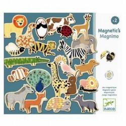 Magneter Dyr fra Djeco