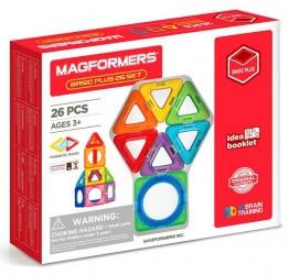 Magnetisk Byggesæt - Magformers Basic Plus 26